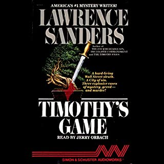 Timothy's Game audiobook cover art