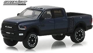 2018 Dodge Ram 2500 Power Wagon Pickup Truck, Maximum Steel Dark Purple - Greenlight 30016/48 - 1/64 Scale Diecast Model Toy Car