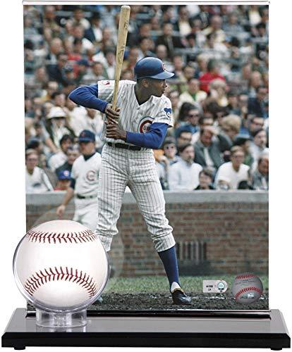Mounted Memories Acrylic Single Baseball Display Case with Photo Holder