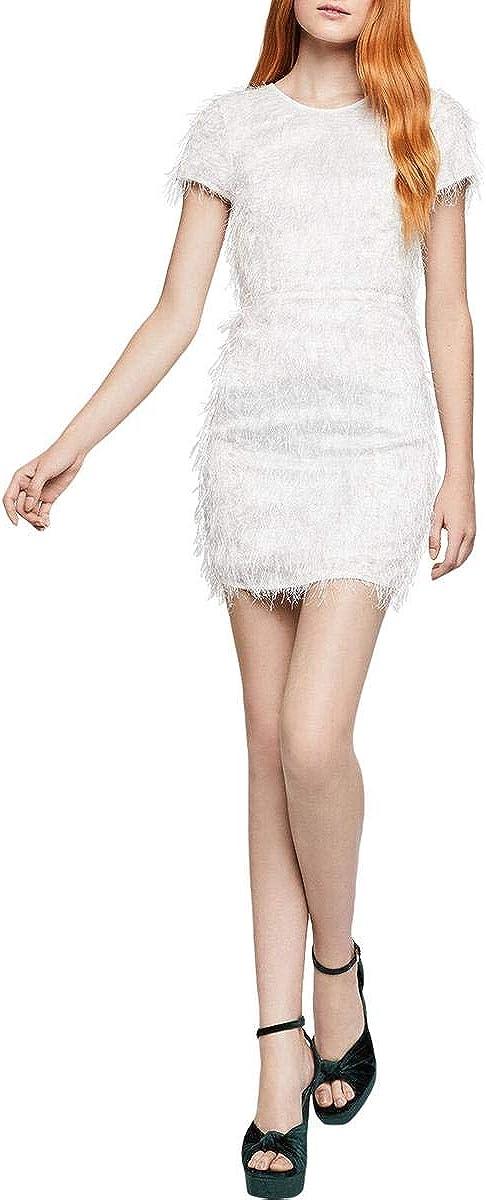 BCBGeneration Women's Cocktail Seamed Mini Woven Dress