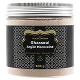 Rhassoul   Ghassoul Argile Bio Premium pour Masque Visage, Soin Cheveux, Gommage Visage, Masque Cheveux, Gommage Corps, Soin Naturel Poudre. Shampoing, Savon Ecologique.