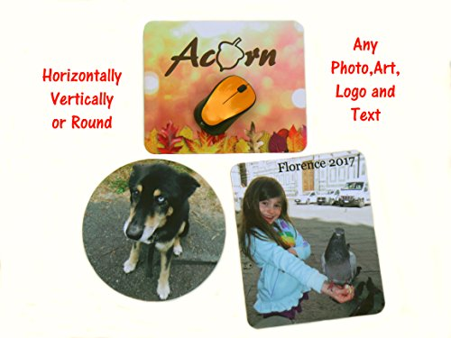 Personalized Mouse Pad - Add Pictures, Text, Logo or Art Design and Make Your Own Customized Mousepad. Each Custom Mouse Mat Comes in a Colorful Gift Bag. Personalized Your Gaming Mousepad Photo #4