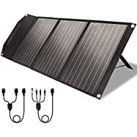 ROCKPALS RP081 60w Portable Solar Panel with Parallel Cable