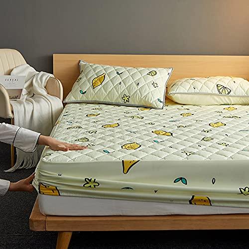 BOLO Sábanas de cama de microfibra cepillada, ultra suave, sedosas y resistentes a las arrugas, 150 cm x 200 cm, 48 cm x 74 cm