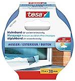 tesa Malerband für Außen, UV- und wetterbeständig, 25m x 38mm