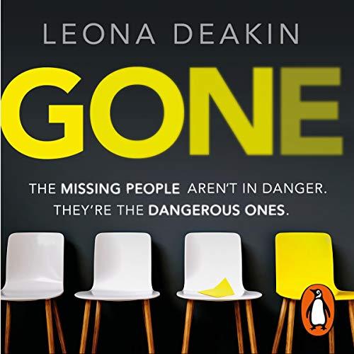 Gone audiobook cover art