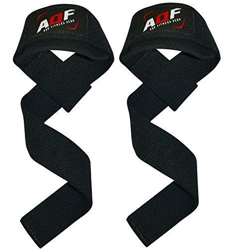 AQF Weight Lifting Straps Neoprene Padded Wrist Support,Training Hand Bar...