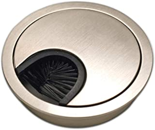 Sossai Pasacable Redondo | 1 Pieza KDM1-GS | Diseño: Acero Inoxidable | Diámetro: 60 mm | Material: Metal