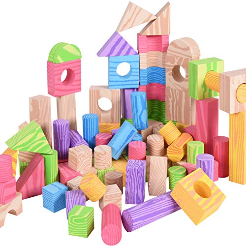 Spielwerk 100 Bloques de construcción de Espuma para niños