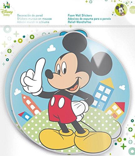 Stor Disney-Personnages décoratifs en Relief Motif Mickey 2 x 27,7 x 28,4 cm