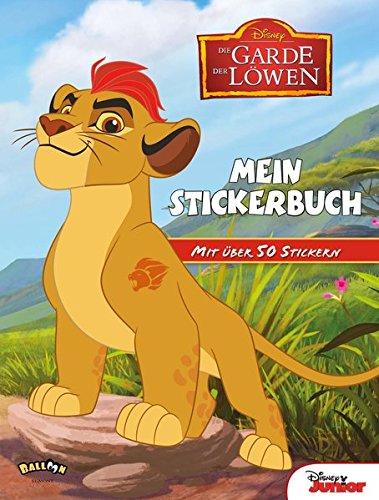 Die Garde der Löwen - Mein Stickerbuch: Mit über 50 Stickern