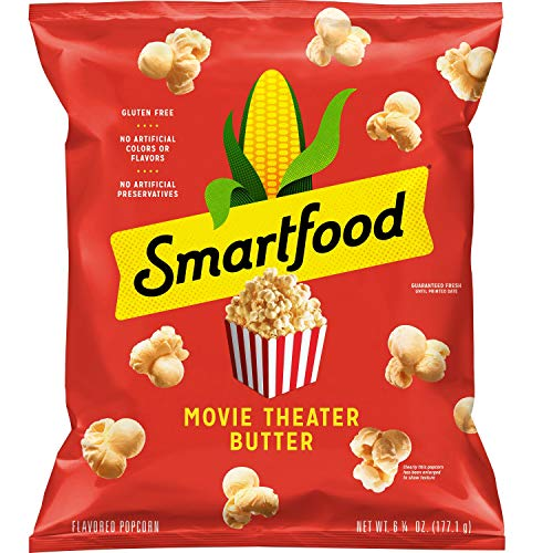 Purchase Smartfood, Movie Theater Butter Flavored Popcorn, 6.25oz Bag