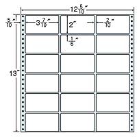 東洋印刷 タックフォームラベル 12 5/10インチ ×13インチ 18面付(1ケース500折) MT12P