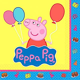 Beverage Napkins   Peppa Pig Collection   Party Accessory