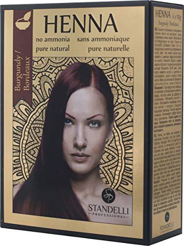 Coloration au henné - Cheveux hydratés & brillants (Henné noir)