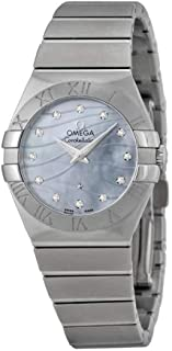 Constellation Blue Mother of Pearl Dial Stainless Steel Mens Watch 12310276057001