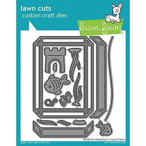 Lawn Fawn LF2361 Build-an-Aquarium Custom Craft Dies