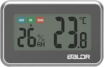 Winbang Termómetro Digital, Medidor Lcd De Temperatura Con Indicación Bateria Cargada
