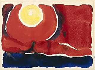 Berkin Arts Georgia O'Keeffe Giclee Canvas Print Paintings Poster Reproduction (Evening Star No. VI)