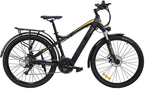 Bicicletas Eléctricas, MTB eléctrico, 27.5 pulgadas Frenos viaje bicicleta eléctrica de doble disco con el teléfono móvil Tamaño Pantalla LCD 27 Velocidad batería extraíble de bicicletas Electric City