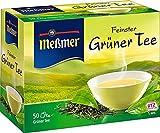Meßmer Grüner Tee (nicht aromatisiert) 50 TB, 2er Pack (2 x 87,5 g Packung)