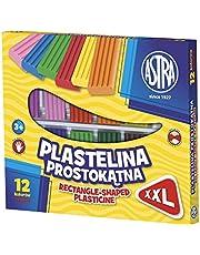 Plastelina prostokatna 12 kolorów