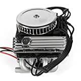 SHYOSUCCE RC Car F82 V8 Simulate Engine Motor Cooling Fans Radiator for 1/10 RC Crawler TRAXXAS TRX-4 SCX10 90046 Redcat GEN8