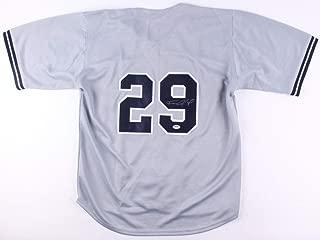 Francisco Cervelli Autographed Signed Yankees Jersey (Size XL) PSA Jorge Posada'S Back Up 2008 2014