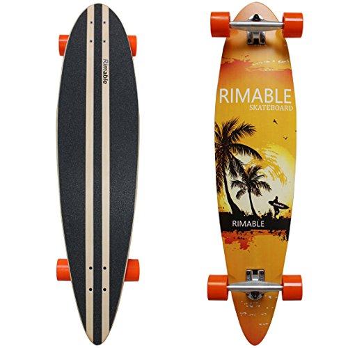 RIMABLE Pintail Longboard (41 Inch,Hawaii)