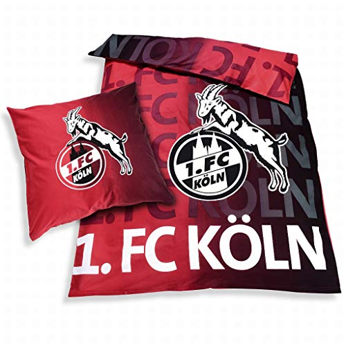 1. FC Köln Bettwäsche Leuchtend - Glow in the dark