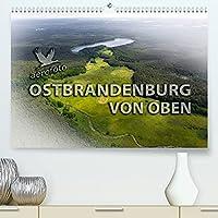Ostbrandenburg von oben (Premium, hochwertiger DIN A2 Wandkalender 2022, Kunstdruck in Hochglanz): Luftbildaufnahmen Ostbrandenburg (Monatskalender, 14 Seiten )