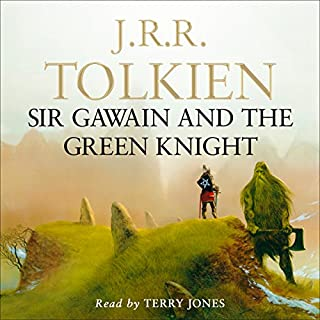 Sir Gawain and the Green Knight                   By:                                                                                                                                 J. R. R. Tolkien                               Narrated by:                                                                                                                                 Terry Jones                      Length: 4 hrs and 25 mins     210 ratings     Overall 4.4