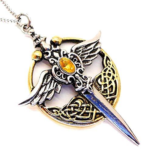 Plaqué Or Igj mr155or Médaille de Saint Michel Archange en Argent 925