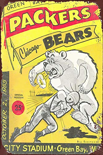 Jesiceny New Tin Sign Bears Aluminum Metal Sign 8x12 Inches