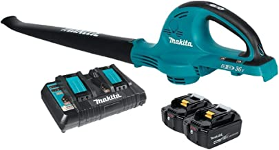 Makita XBU01PT-R 18V X2 LXT 5.0 Ah Handheld Blower Kit (Renewed)