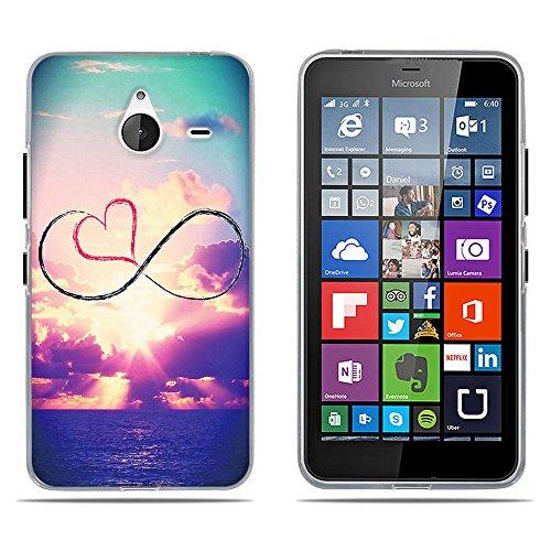 DIKAS Nokia Microsoft Lumia 640XL Custodia, Protectiva Ultra 3D Silicone Custodia TPU Morbida Silicone Coperture Anti Graffio Slim Case Caso Nokia Microsoft Lumia 640XL- PIC: 12