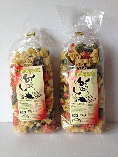 Motivnudeln Nudeln Pasta 2er Pack 250g Durum Hartweizengrieß (Hund 2er Pack)