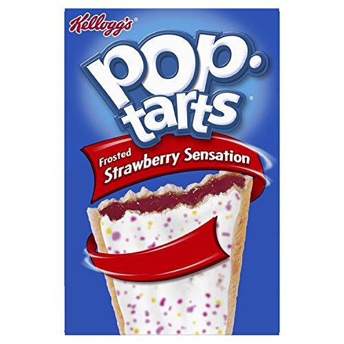 CMC Kellogg's Pop Tarts Strawberry Sensation, 1er Pack (1 x 400 g)