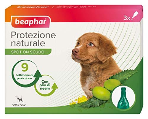 Beaphar Protezione Naturale Spot on Cucciolo 3 Pipette, XS