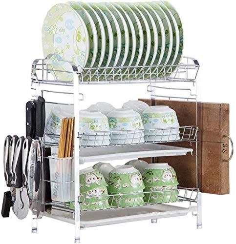 XXT Trois couches Bowl rack Égoutter rack Air vaisselle rack Arts de la table Boîte de rangement cuisine rack