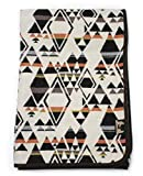 RUTH&BOAZ Outdoor Wool Blend Blanket Ethnic Inka Pattern(S) (Snow, Large)