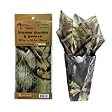 Havercamp Next Camo Party Tissue Papers | 8 Count | Great for Hunter Themed Party, Camouflage Motif, Birthday Event, Graduation Party, Father's Day Celebration