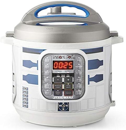 Instant Pot 112 0104 01 6Qt Star Wars Duo 6 Qt Pressure Cooker R2 D2 White with Blue R2D2 product image