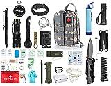 Kit de Supervivencia Militar Profesional de Tercera Generación Emergencia Montaña Excursión...