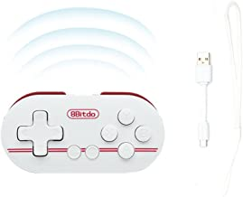 Zero Wireless Bluetooth Smallest Controller of World for Mac OSX Android Windows Pc (Red color)