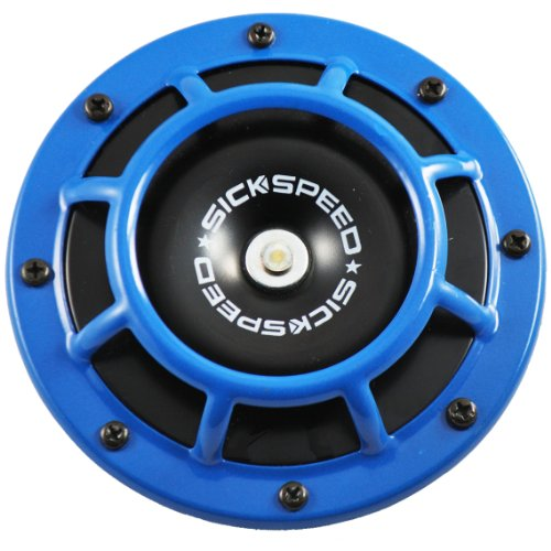 Sickspeed 2Pc Neo Chrome Super Loud Compact Electric Blast Tone Horn Car//Truck//SUV 12V P6 for Mitsubishi Outlander