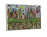 Kunstdruck Fun Days on Sundays in Central Park Grün Plakat