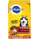 PEDIGREE High Protein – Beef and Lamb Flavor Adult Dry Dog Food, 50 Pound Bonus Bag (10171526)