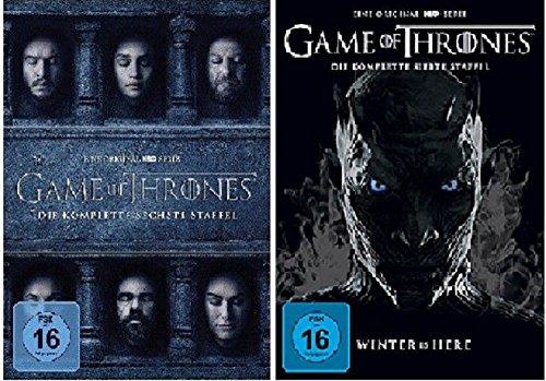 Game of Thrones Staffel 6+7 [DVD Set]