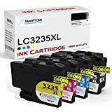 SMARTOMI LC3235XL LC3235 XL LC 3235 Compatibili con Brother LC3235XL LC-3235XL LC-3235XLBK LC-3235XLC LC-3235XLM LC-3235XLY Cartucce d'inchiostro, per Brother Printer DCP-J1100DW MFC-J1300DW Series